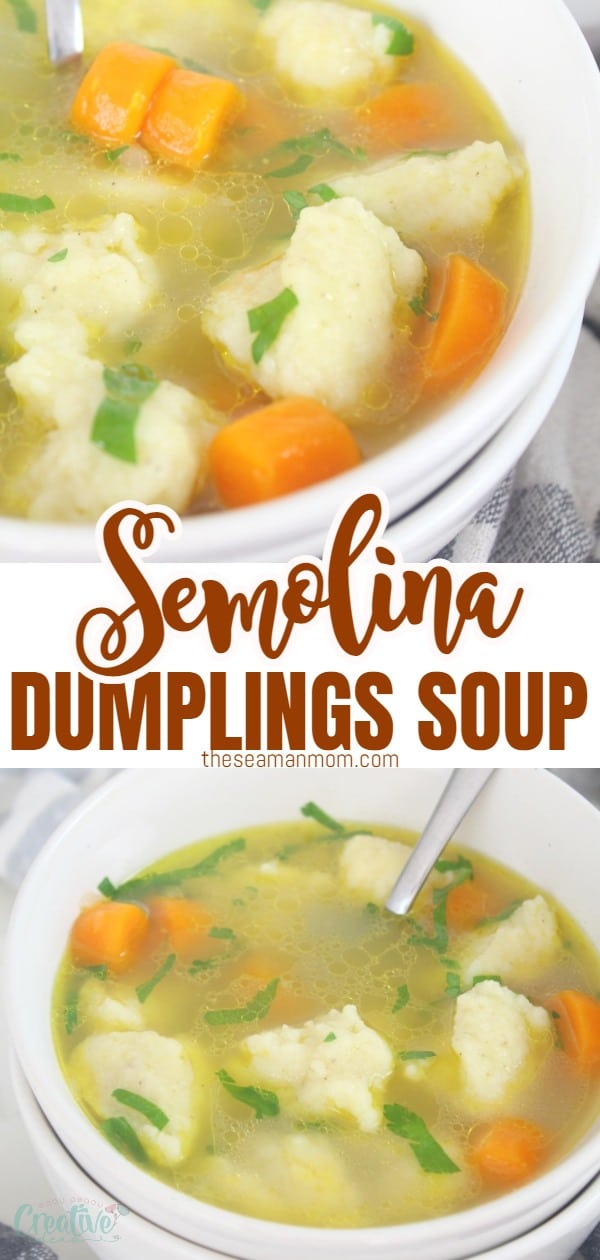 Semolina dumplings soup is very famous in Austrian and Bavarian restaurants and is a popular dish throughout all the areas once inhabited by people of German origin. These delicious dumplings are super quick and easy to make and taste amazing! I'm going to show you how to make this delicious dumplings soup to serve as an entréeor as a delicious hot dinner in winter months. via @petroneagu