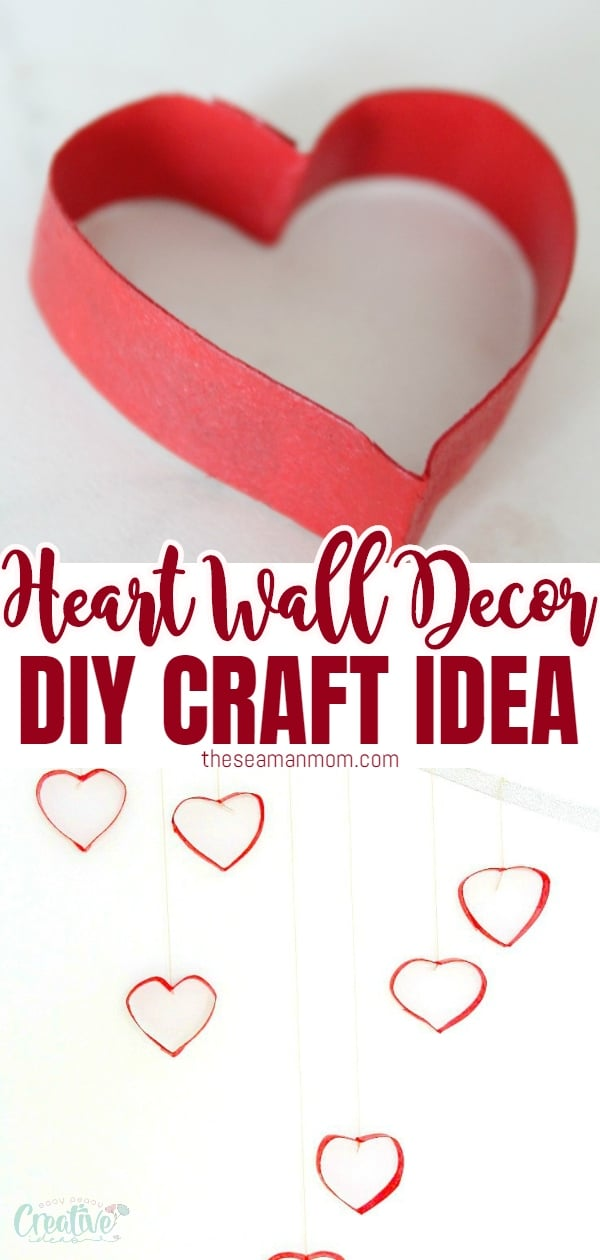 Wall decorating ideas are fun, exciting and can be a great and inexpensive way to add personality to a boring wall. Here's a Valentine's day wall decorations project, made with recycled toilet paper rolls. via @petroneagu