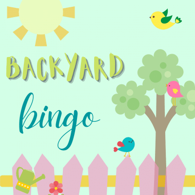 These fun printable bingo cards are a great family activity this spring