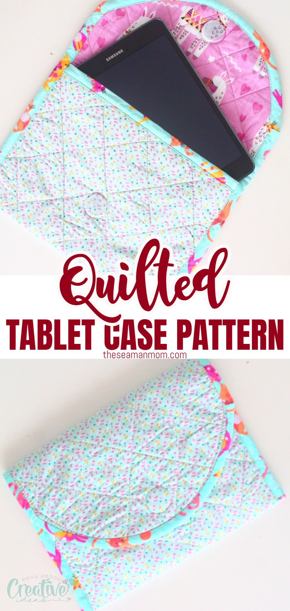 Tablets are a thing these days, when we need to keep in touch with our friends, family or jobs. But they are sensitive, so they need protection. While there are many ways of making your own DIY tablet case, today I'm going to show you how to make a tablet cover using simple quilting. via @petroneagu