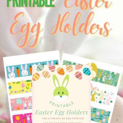 These Easter egg holders are so cute you'll want to grab them asap!