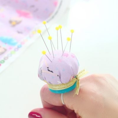 Super cute, easy and quick finger pincushion you need to make right now