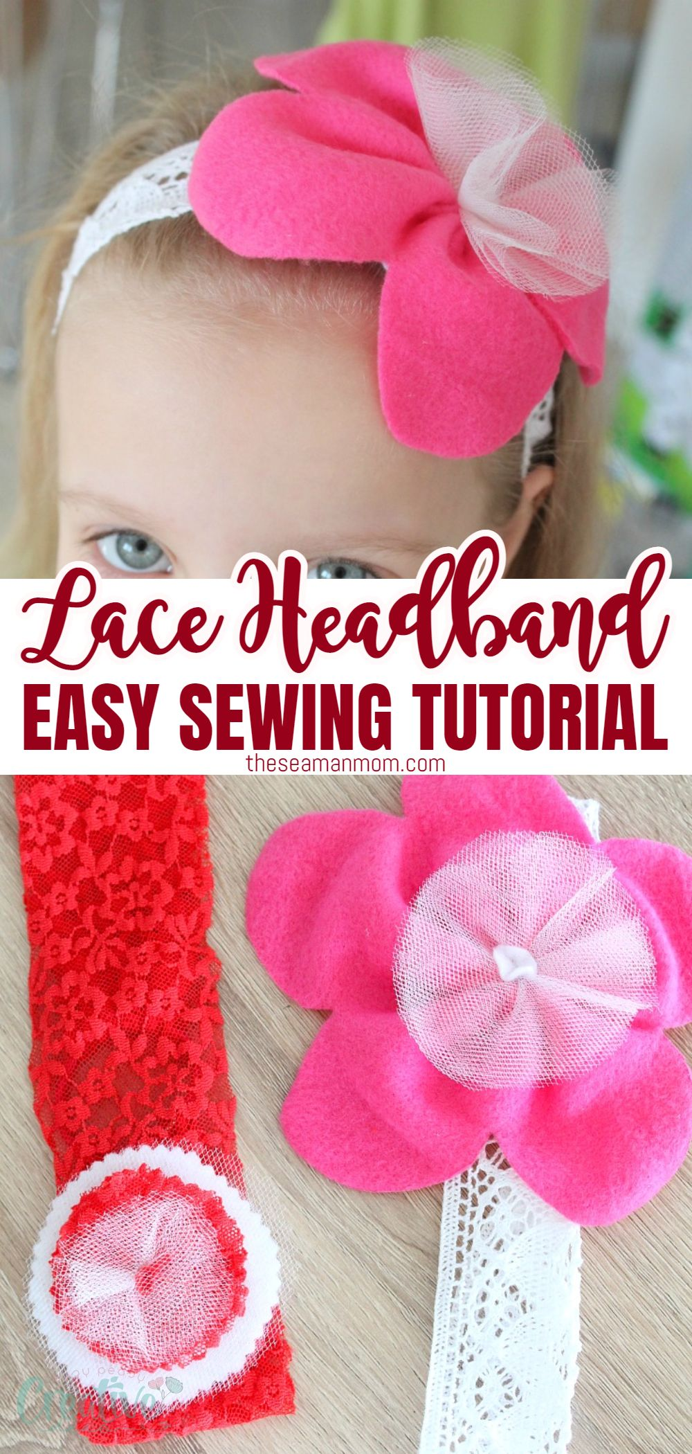 Looking for an utterly enchanting look? Lace can prettify almost anything so why not make your own lovely headband in just a few easy steps with this 15 minutes lace headband tutorial? via @petroneagu