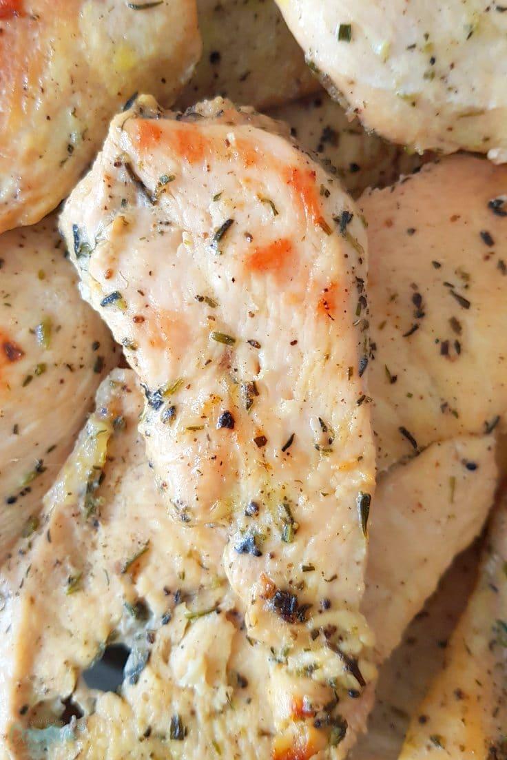 Lemon herb chicken breast