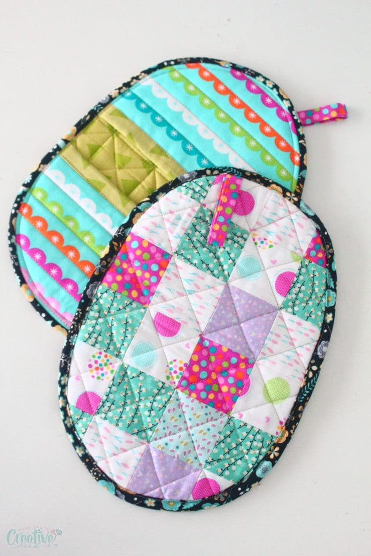Quilted potholder pattern
