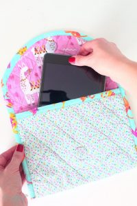Quilted tablet case