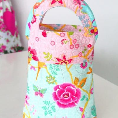 You'll love how cute and easy to make this quilted handbag is