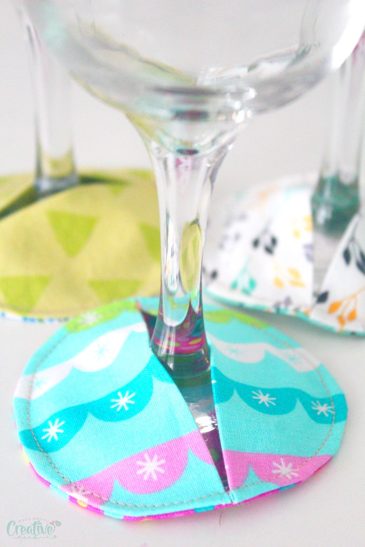 Wine glass slippers