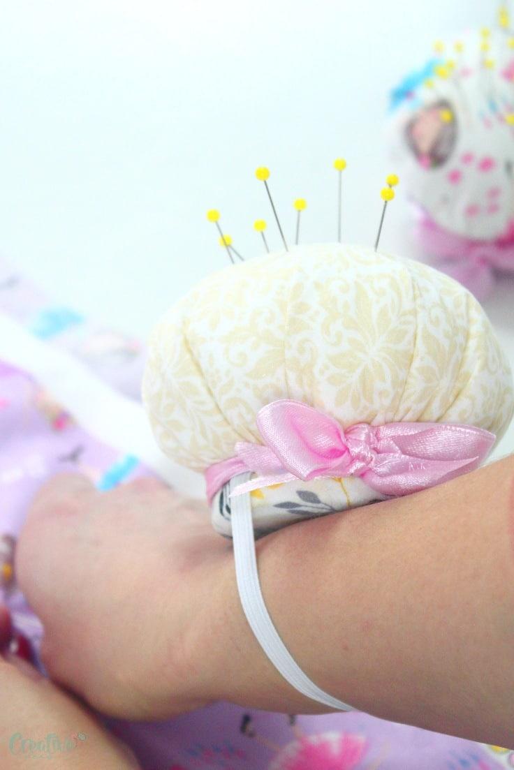 Wrist pin cushion pattern