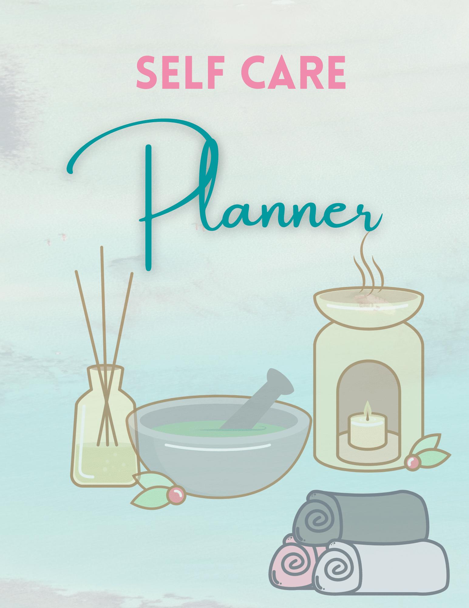 Printable self care planner