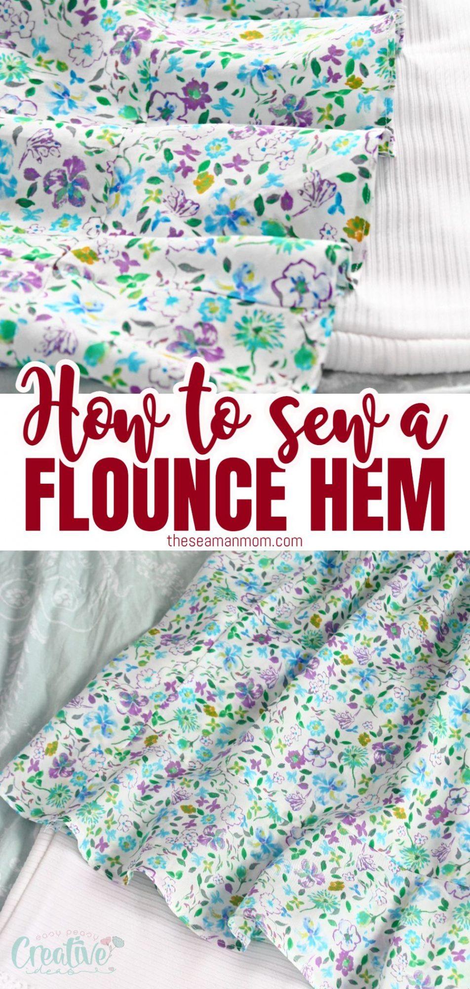 How to make a flounce