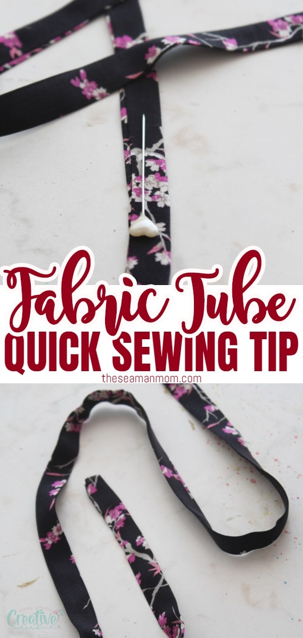 Working on a project that requires you to make a tube strap or a fabric tube that is a bit too narrow for your skills? Turning fabric inside out doesn't have to become mission impossible! Here's how to turn a fabric tube inside out without a fabric tube turner! via @petroneagu