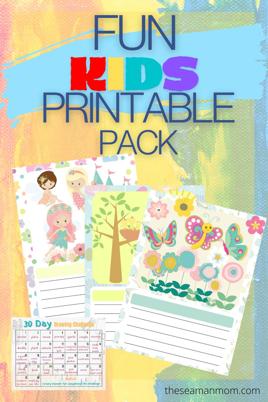 Fun printables for kids