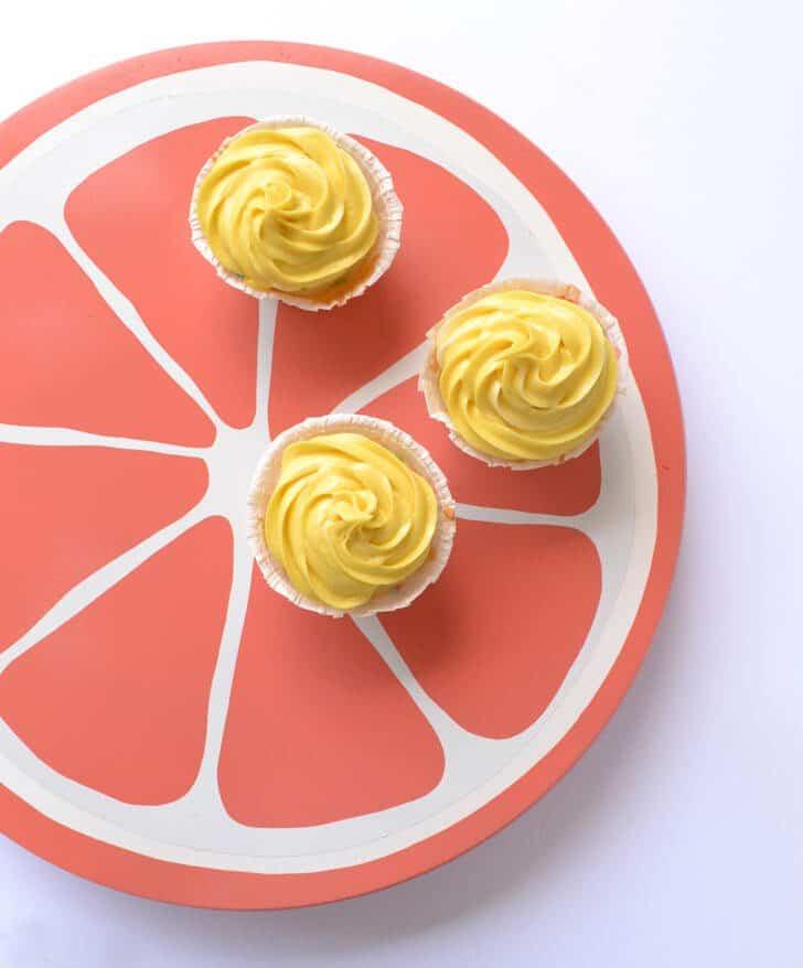 Image of DIY Citrus Fruit Lazy Susan summer home decor