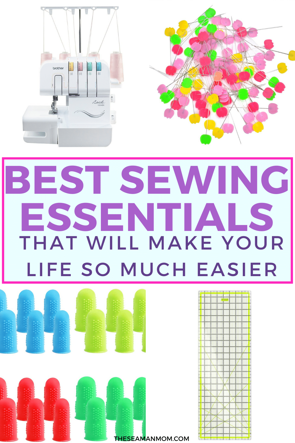 If sewing is much more than just an occasional hobby for you, these sewing essentials need to be on your list ofmust have sewing supplies! These amazingsewing accessories are sure to make your sewing life a lot more easy! via @petroneagu