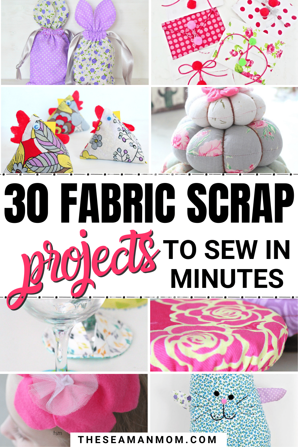 Find it hard to part ways with your fabric scraps? No need to throw those away, incorporate them in any or all of thesefabric scraps projects! So cute and easy to make, thesescrap fabric ideas makesewing with scraps such a fun, enjoyable journey! via @petroneagu