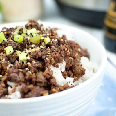 INSTANT POT KOREAN BEEF recipe