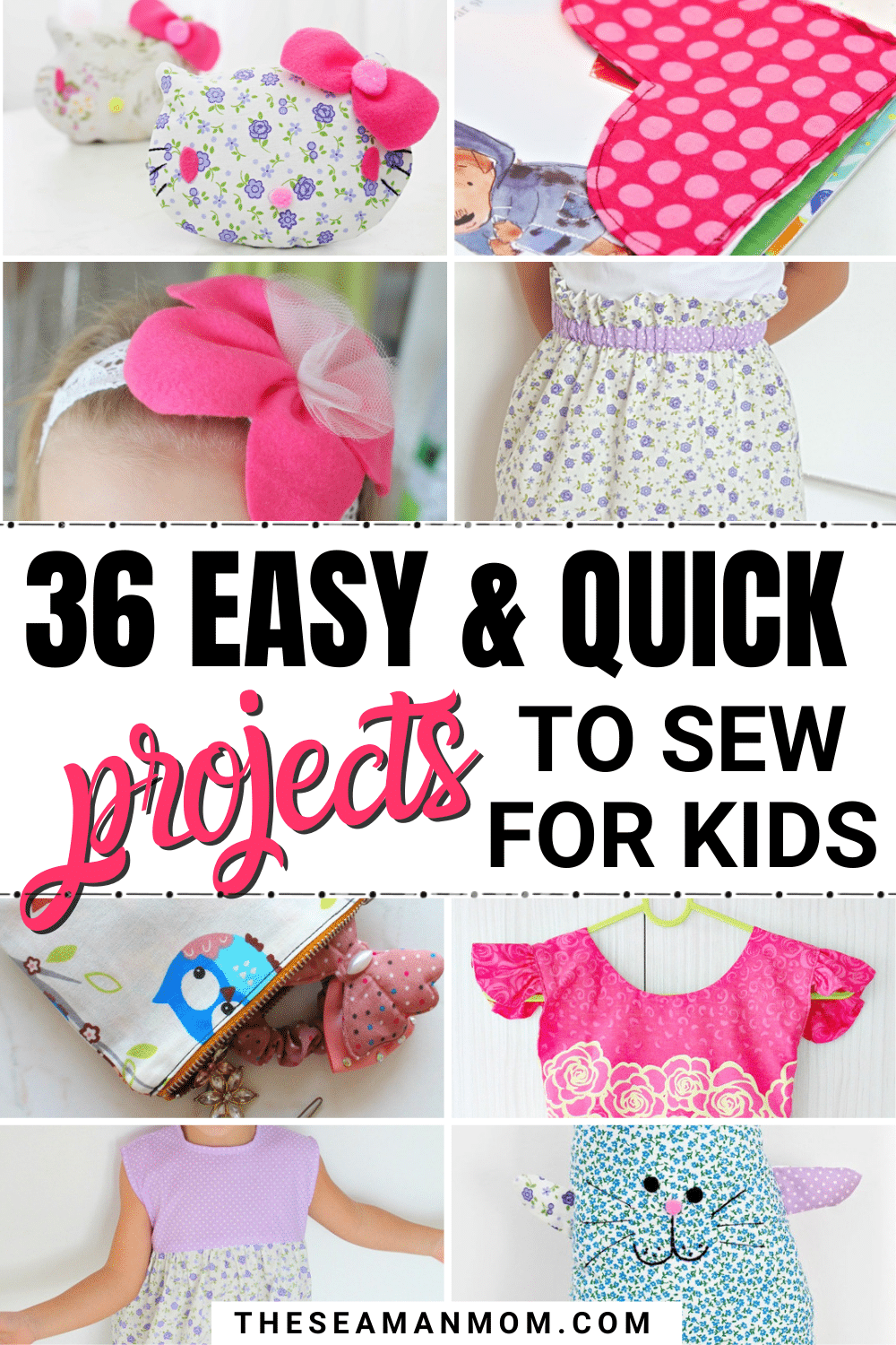 Need sewing projects for kids to make this summer? Sewing for kids is not only easy and quick but rewarding too! These awesome kids sewing ideas will help you keep your sewing skills in top shape even in busy times, like school breaks! via @petroneagu