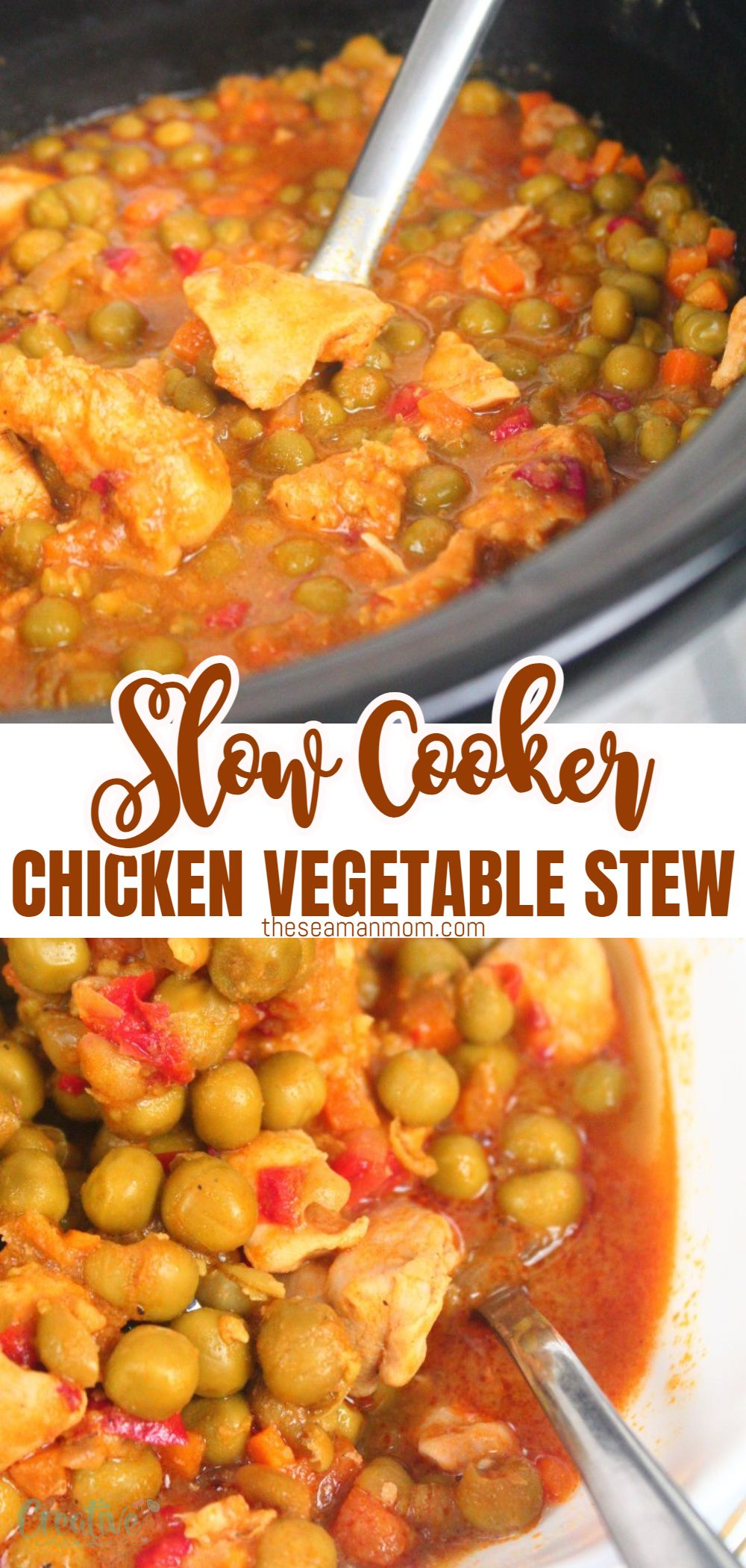Slow cookers do most of the job without supervising, and you only need to keep an eye on them if you need to add something at a given moment. This time, I'm going to show you how to cook a delicious and super-tender slow cooker chicken stew with peas. via @petroneagu