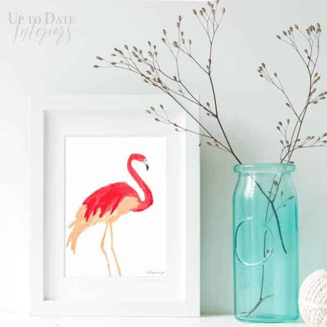 Flamingo Art decor