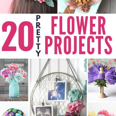 20 PRETTY FLOWER PROJECTS