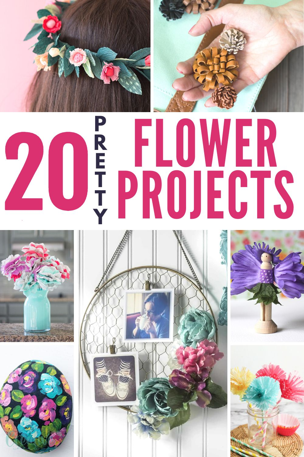 Regardless of the type of DIY you are creating, flower crafts – fake or fresh – bring a sense of life and beauty to any project! via @petroneagu