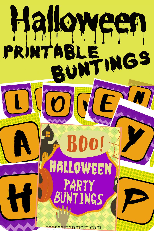 Image of Halloween bunting