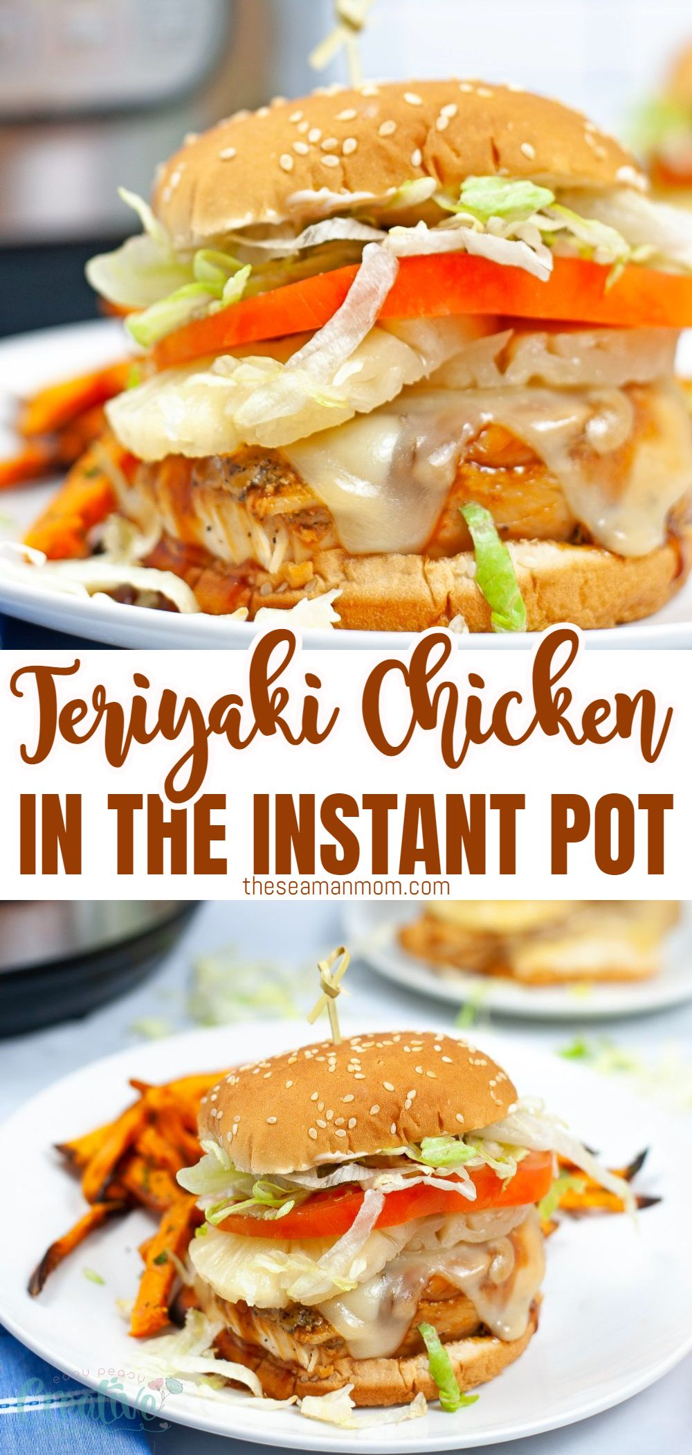 With the help of your pressure cooker, you can whip up a flavorful chicken breast just like the on one the Teriyaki Chicken Burger at Red Robin. You'll love how easy this Instant Pot teriyaki chicken is to make! via @petroneagu