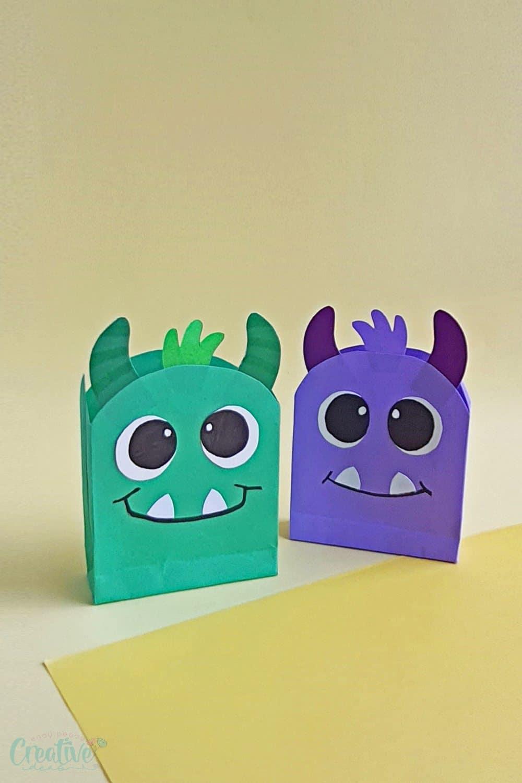 Monster paper bags