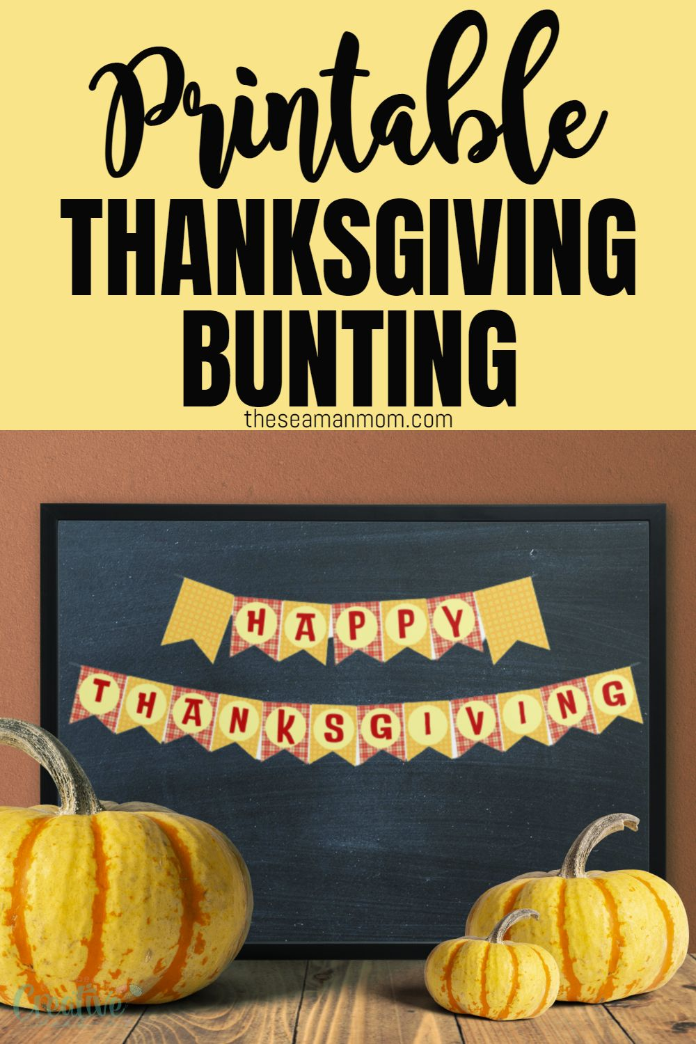 Whether you're hosting friends and family for Thanksgiving dinner or just want to add some fall décor to your home, a Thanksgiving banner is a great option. via @petroneagu